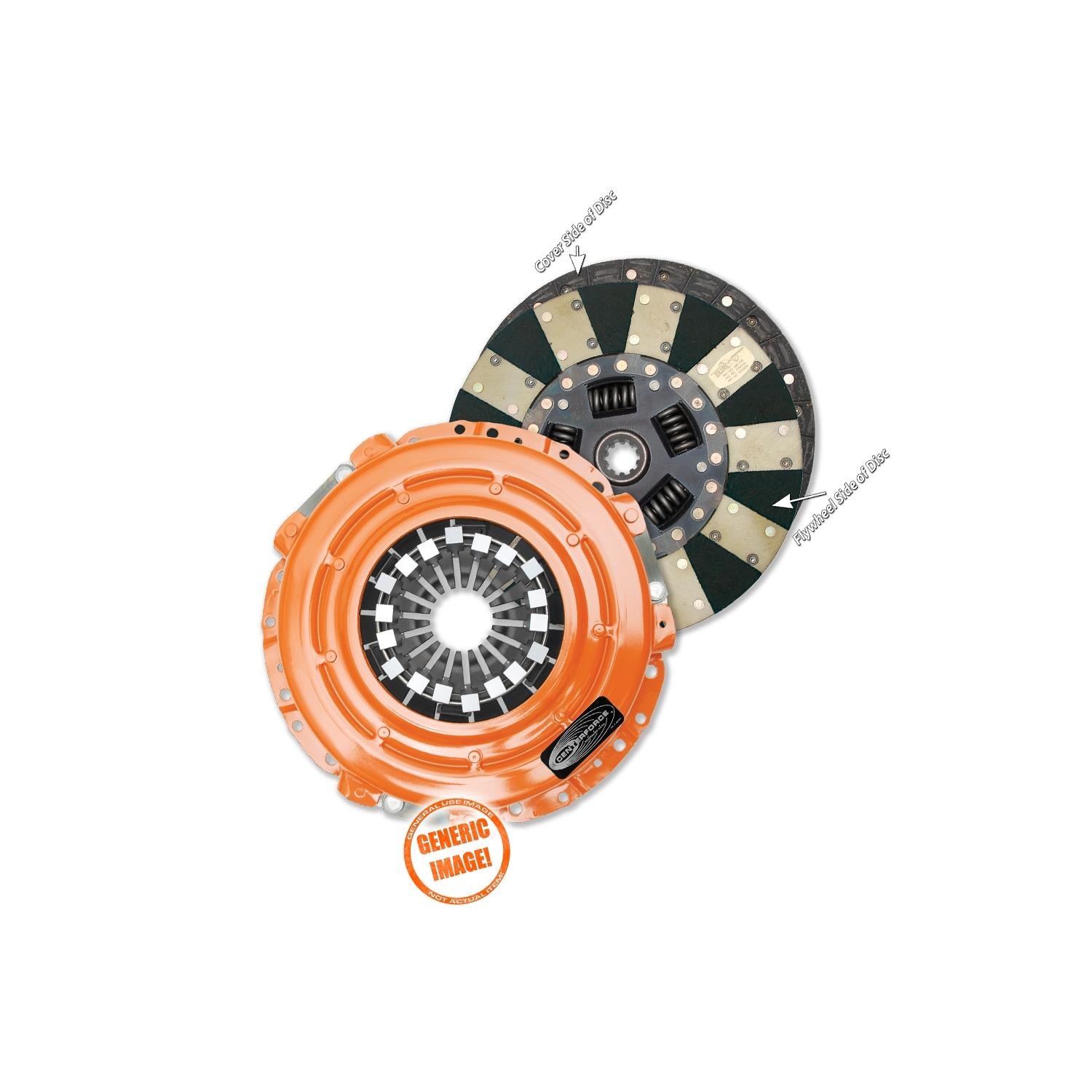 Centerforce DF532009 Dual Friction Clutch Pressure Plate and Disc