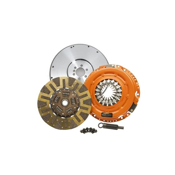 Dual Friction - Clutch Pressure Plate - Disc - and Flywheel Set